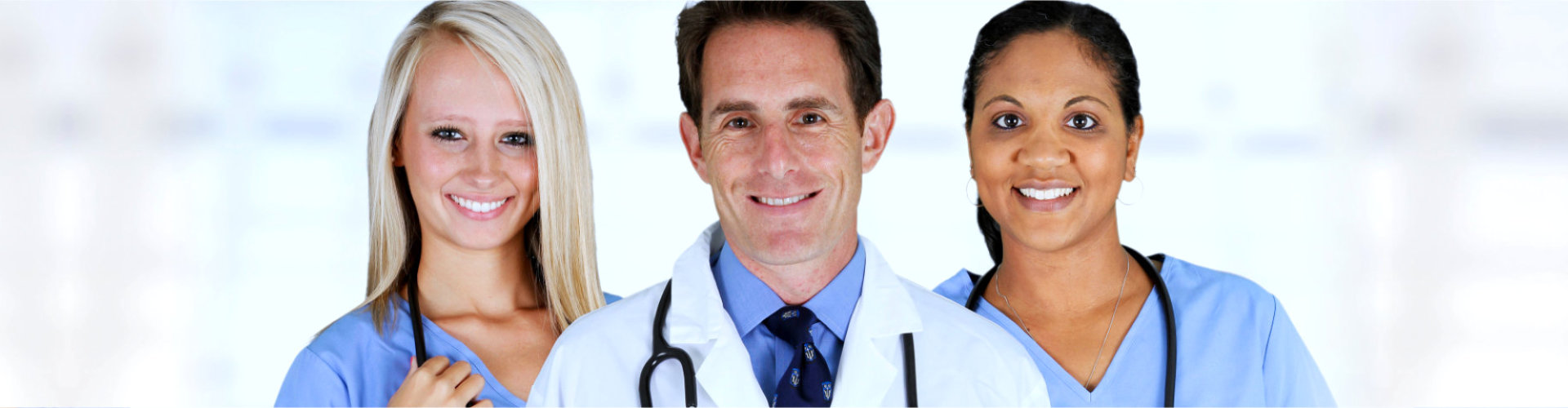 group of medical staff smiling